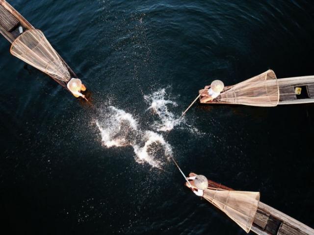Инкл-Ривер-Рыболовное шоу, первая премия в категории истории, энтузиастская группа. Автор: Water Qinghua.