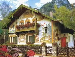 Картинки по запросу Сказочная роспись домов в Баварии