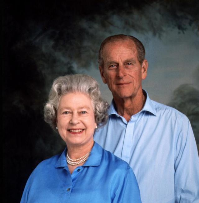 Счастливая королевская семья, 1997 год.