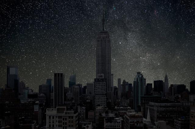 Фото: Восхитительная подборка снимков больших городов с выключенным светом (Фото)