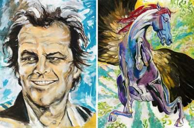 Знаменитости, которые могли бы стать художниками. Фото