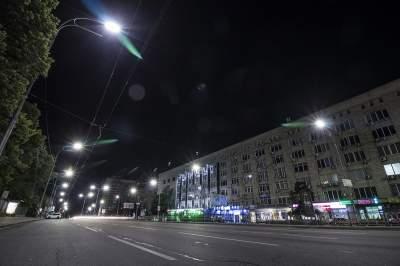 Ночной Киев на впечатляющих снимках. Фото