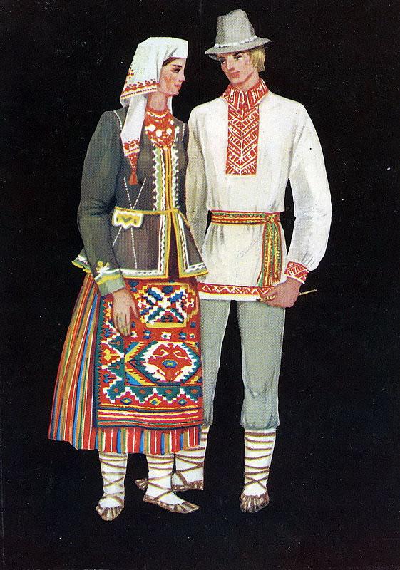 Фото: Дивные краски традиционного украинского костюма (Фото)