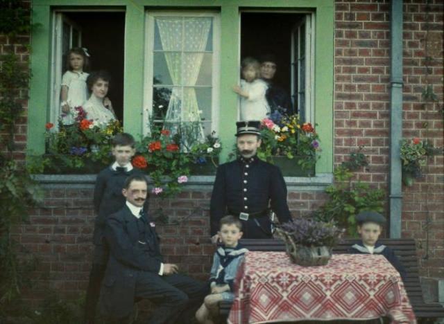 Фото: Первые цветные снимки, которые передают всю красоту прошлого времени (Фото)