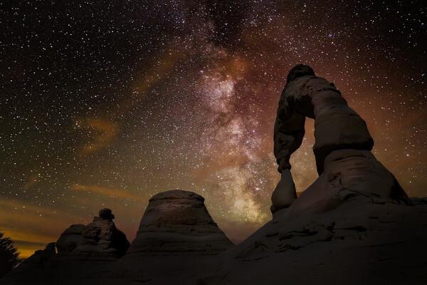 Лучшие места для астрономического туризма - Парк Арки в штате Юта в США