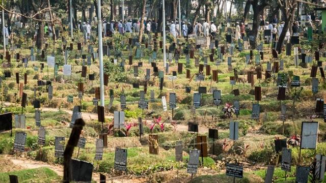 Одно из кладбищ в Дакке.  Фото: Amirul Rajiv.
