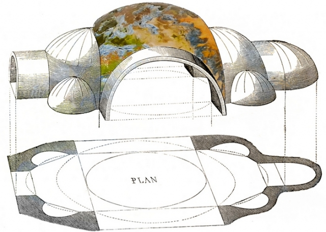 В Святой Софии в 558 году пришлось заменить купол./ Фото: hdpix.org