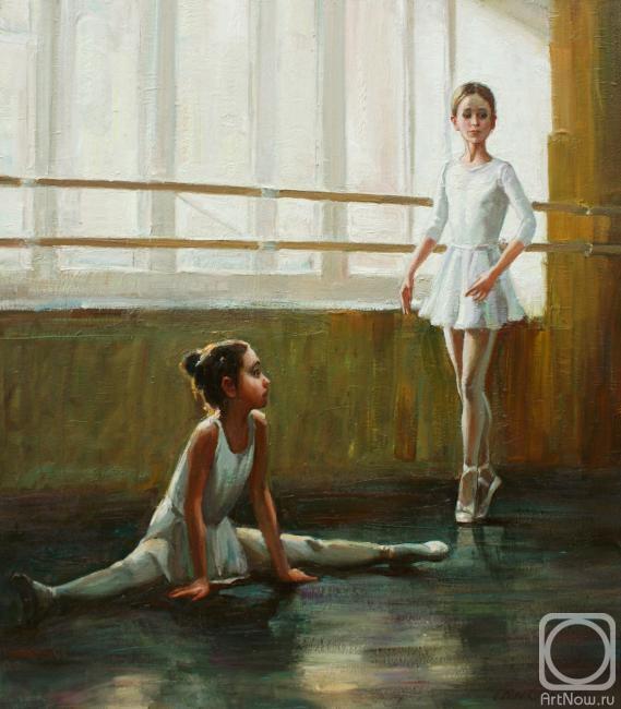 Гибет Алиса. Будущие балерины (569x650, 159Kb)