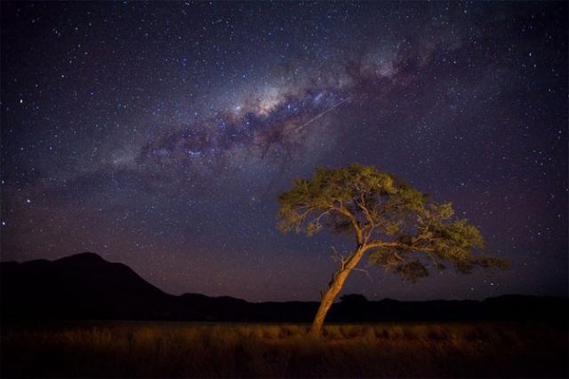 Фантастические пейзажи Намибии