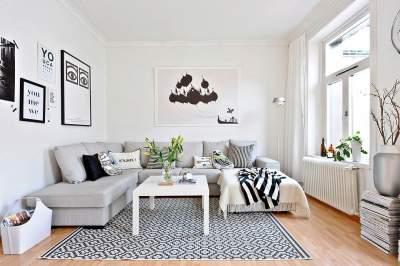 Скандинавский стиль в интерьере: лучшие идеи. Фото