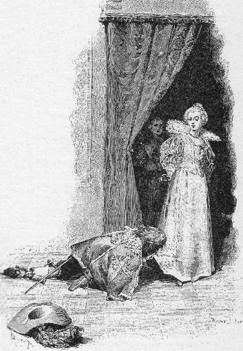 «У ног королевы.(1894). Автор: Морис Лелуар.