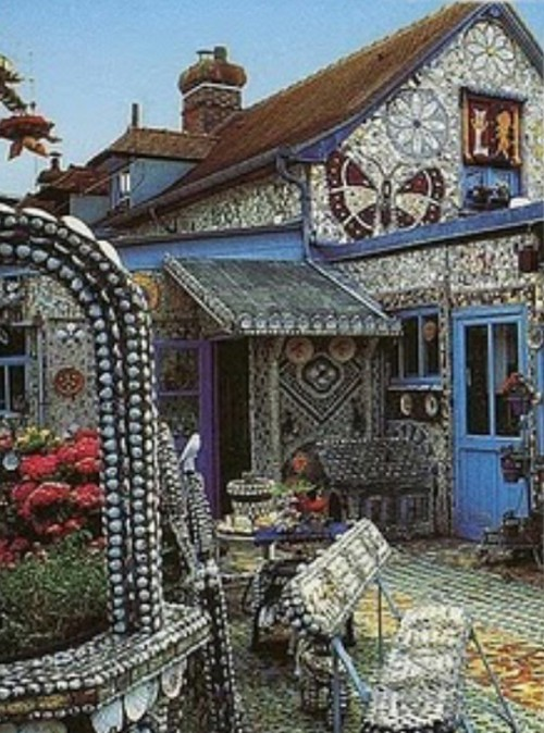 как украсить дом мозаика -07
