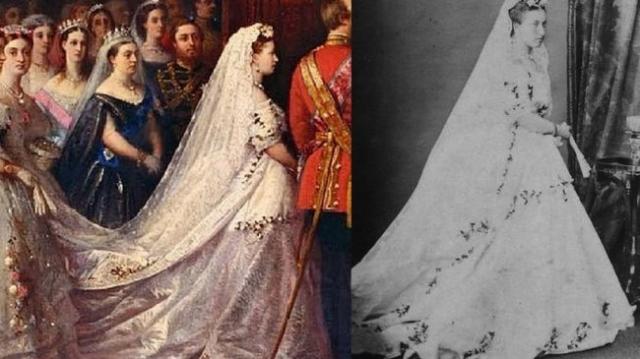 Интересные факты о свадебном платье (10 фото)