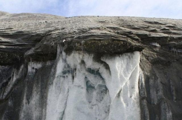 Самый древний лед.