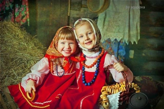 Русские девочки.