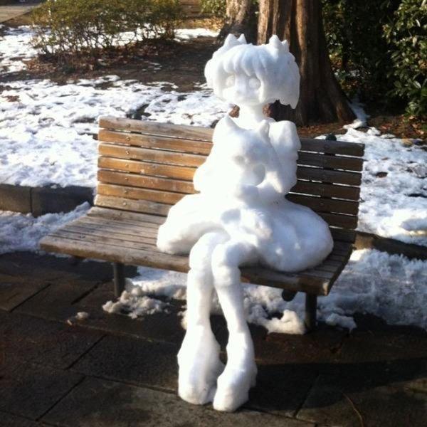"""Результат пошуку зображень за запитом """"Снеговики в Японии..."""""""