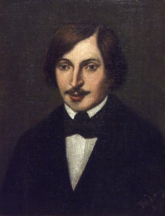 Неизвестный художник. Портрет Н. В. Гоголя. / Фото: www.domgogolya.ru