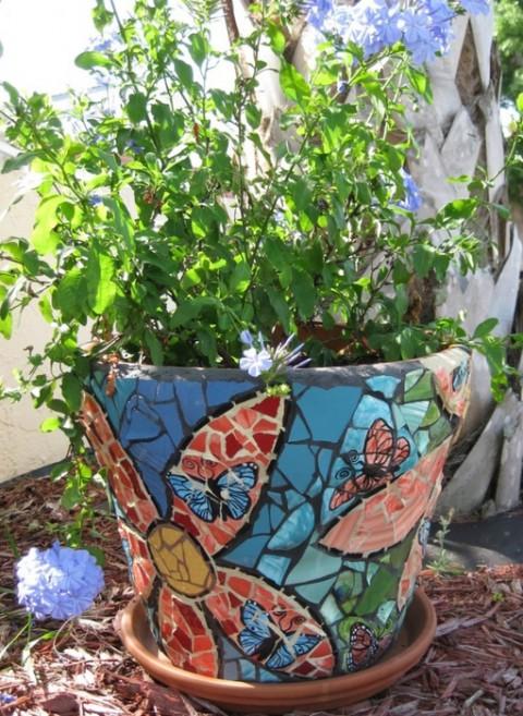 как украсить дом мозаика -14