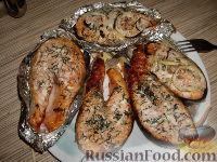 Фото к рецепту: Семга-гриль