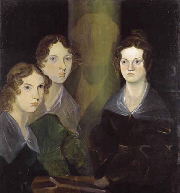 Портрет сестер Бронте, работы их брата