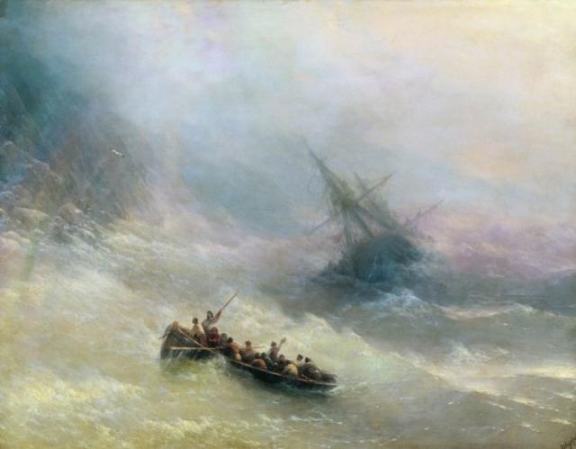 Шторм. 1873г.