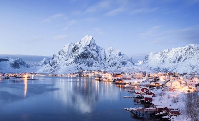 Фото: Роскошные пейзажи королевства Норвегия (Фото)