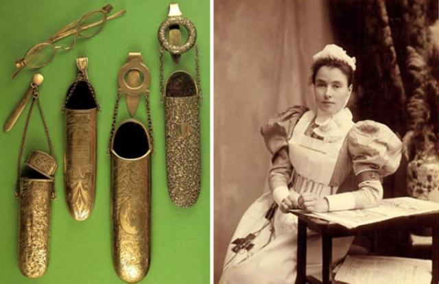 Шатлен носили как знатные дамы, так и простые домохозяйки или работающие женщины (он был очень популярен у медсестер)