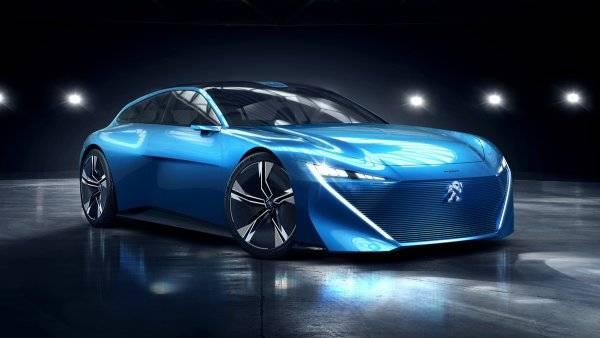 Peugeot презентует в Париже новый концепт этой осенью