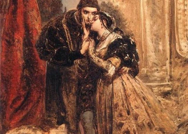 Фрагмент картины «Зигмунд Август и Барбара во дворце Радзивиллов в Вильно», худ. Ян Матейко./фото: polomedia.ru