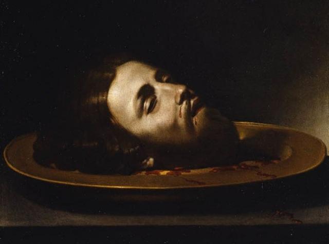 Голова Иоанна Крестителя (1660) Андреа Ваккаро