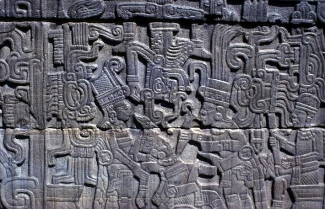 Жуткий ритуал ацтеков: человеческое жертвоприношение. / Фото: atlasobscura.com