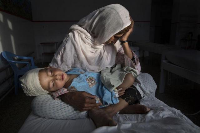 Жертва взрыва в Кабуле