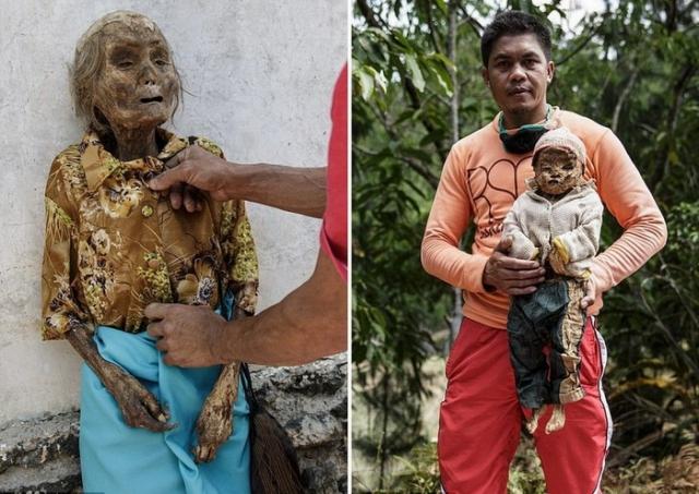 На Сулавеси по-своему относятся к ушедшим в мир иной.