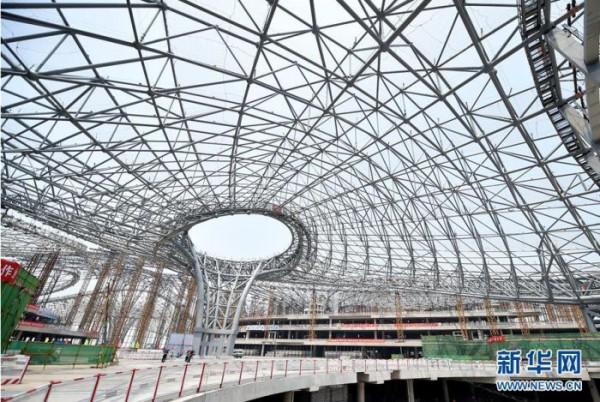 Строительство аэропорта