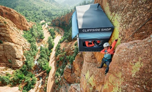 Магазин на скале, фото 7