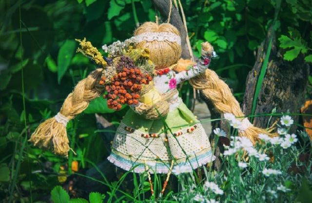 Кукла-оберег «Здоровушка» от Светланы Казиной.