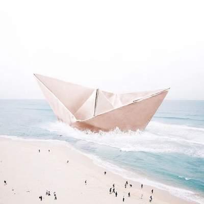 Сюрреалистичные снимки фотографа из Португалии. Фото
