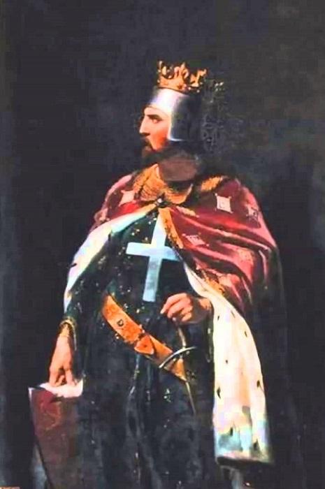Король Англии Ричард Львиное Сердце. | Фото: i.ytimg.com.