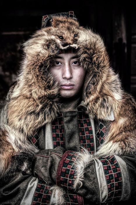 Молодой человек саха. Автор: Александр Химушин.