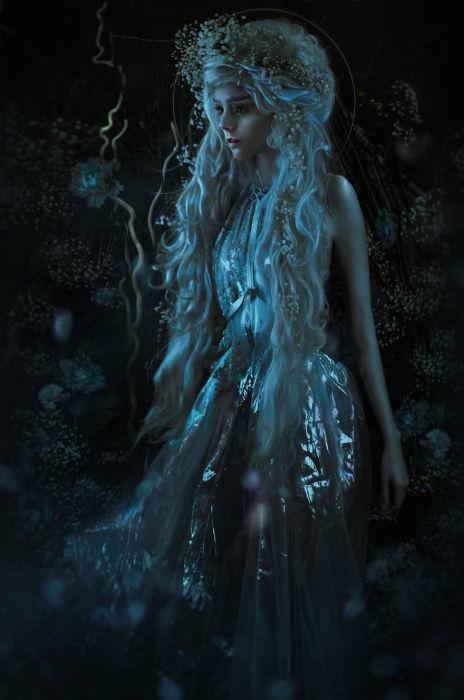 Лунный луч II. Автор: Lillian Liu.