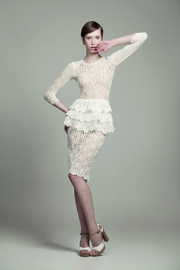 Фото: Мода 2018: роскошные вязаные платья для истинных леди (Фото)
