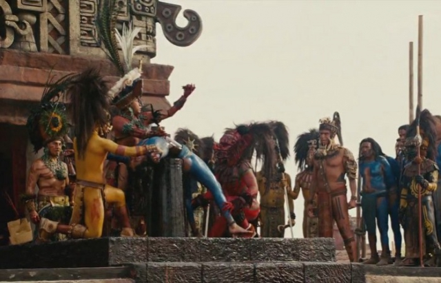 Жуткий ритуал ацтеков: массовое жертвоприношение в Теночтитлане./фото: kino-zadrot.net