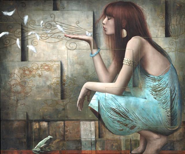 Поцелуй. Автор: Sergio Cerchi.