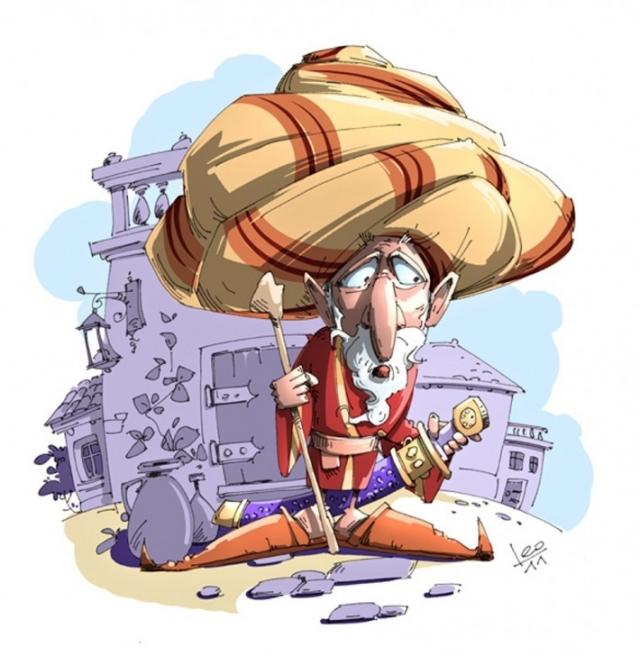 Иллюстратор Leonid Gamart: часть 1 (70 рисунков)