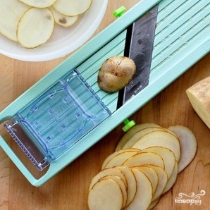 Домашние чипсы в микроволновке - фото шаг 1