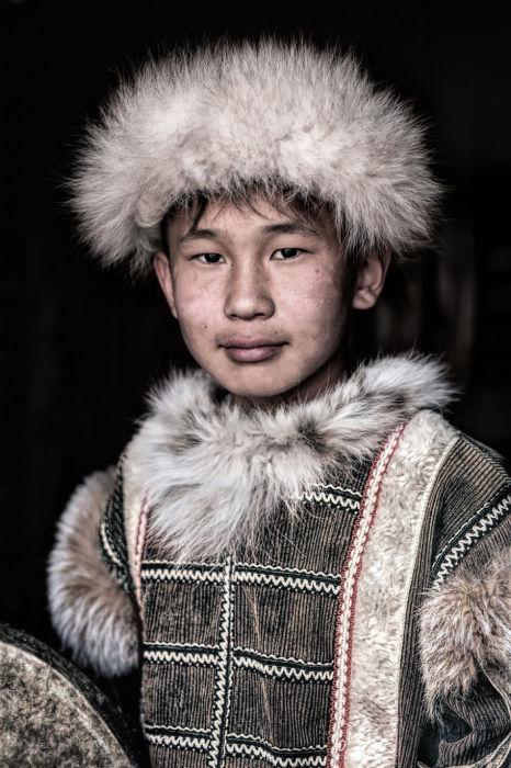 Тофаларский  мальчик. Автор: Александр Химушин.