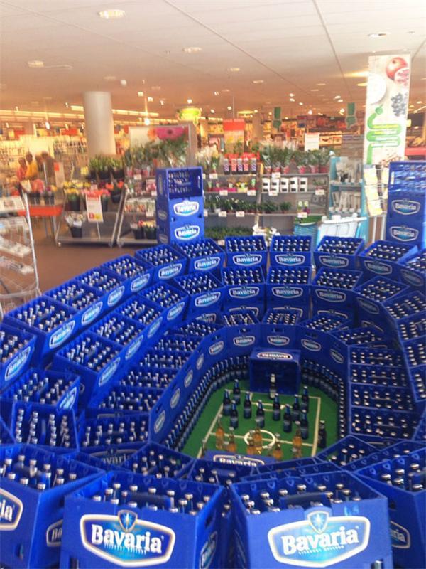 Необычный и креативный продающий маркетинг в супермаркетах США
