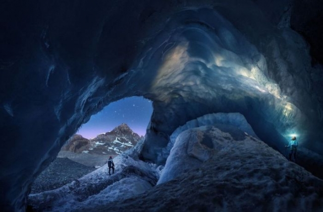 Поощрительной премией в специальной категории «На хрупком льду» награжден испанский фотограф Хуан Пабло Де Мигель (Juan Pablo De Miguel).
