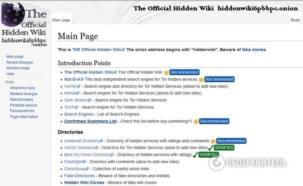 Hidden Wiki Darknet