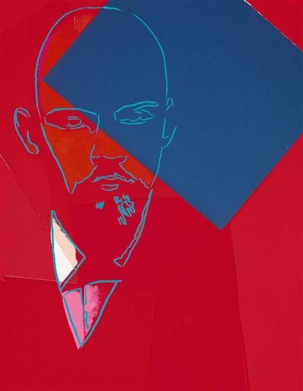 Warhal Lenin. 1987.Jpeg